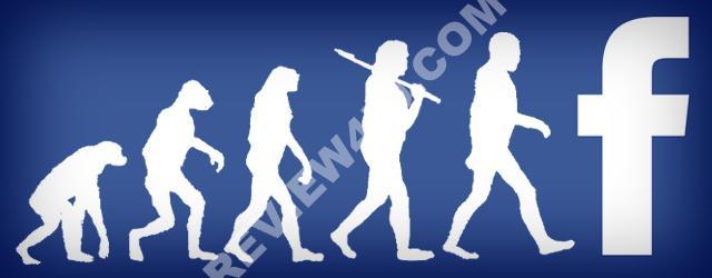 Evolucion a Facebook user