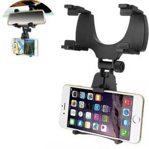 29. Rearview Mirror  mounted mobile holder - Souq.com under 50 SAR