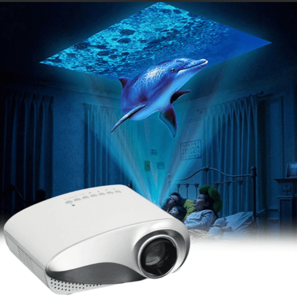 16. Mini LED Portable Home Theater Video Projector for Smartphones-Best to buy things on aliexpress best sellers