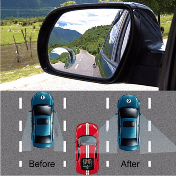 37. Rotatable Wideangle Round Blind Spot Mirror for Car-Best to buy things on aliexpress best sellers