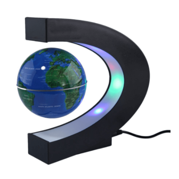 41. LED Floating Tellurion C Shape Magnetic Levitation Floating Globe-Best to buy things on aliexpress best sellers