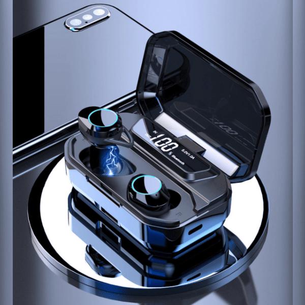 6. QCR G02 TWS 9D Stereo Earphones -  Best Bluetooth Earbuds In-Ear Headphone-Best Earphones on AliExpress