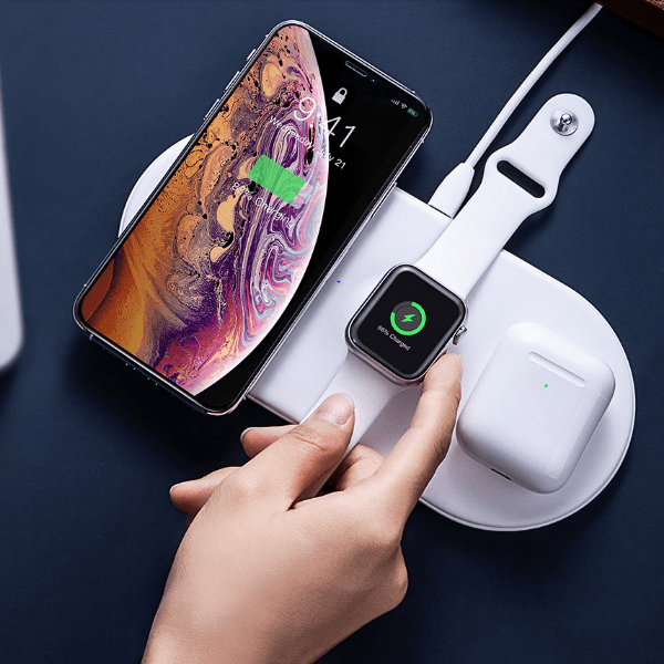 7. Baseus Wireless 3 in 1 Charging Pad-Best AliExpress Products
