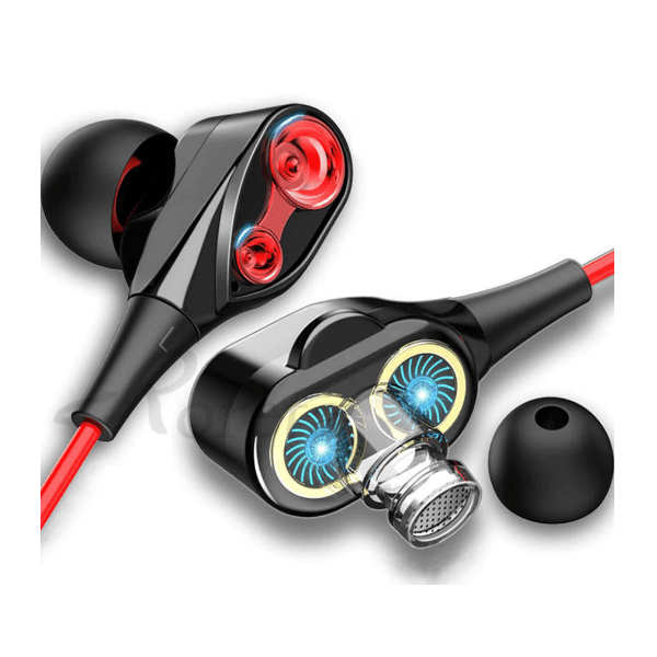 9. Roreta Dual Drive Stereo Wired Earphone-Best to buy things on aliexpress best sellers