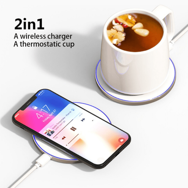 Best Smart Thermostatic Cup with Wireless charger