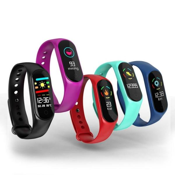 4. Colmi M4S - Cheapest Chinese Fitness Tracker with Heart Rate Monitor