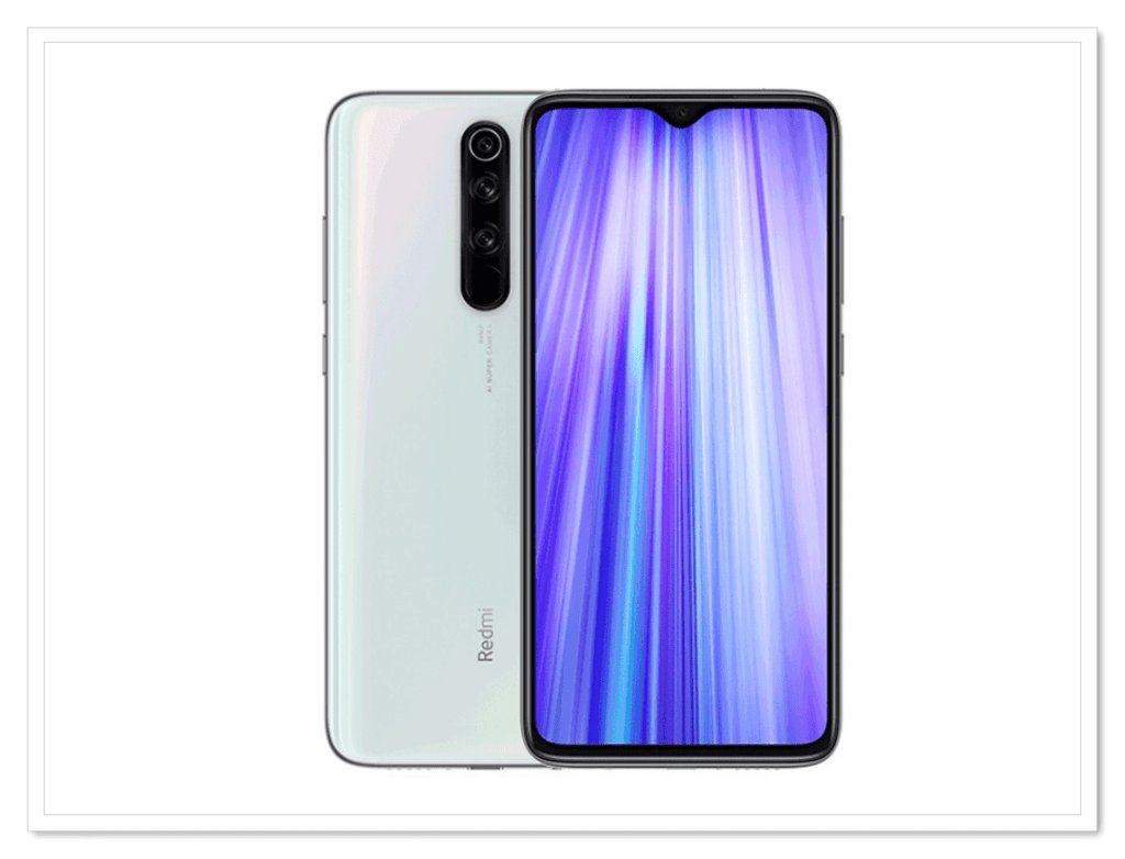 8. Xiaomi Redmi Note 8 Pro-Best Mobile under 1000 SAR, Best Smartphones under 1000 Riyal