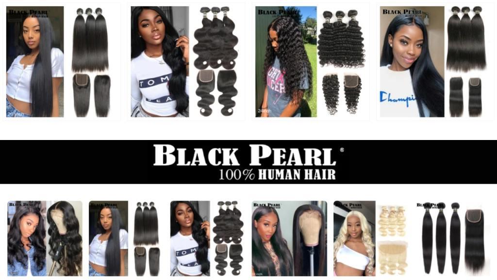 10. Black Pearl-best aliexpress hair vendors