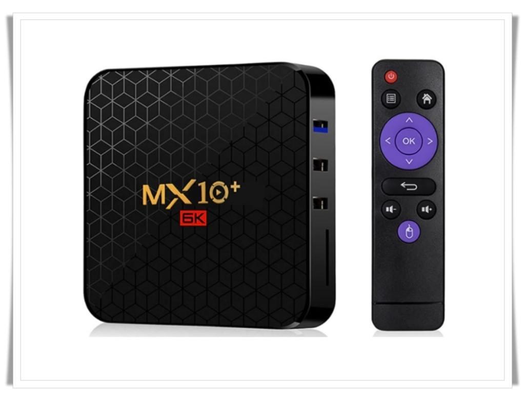 MX10+ TV Box-Best Android TV Box