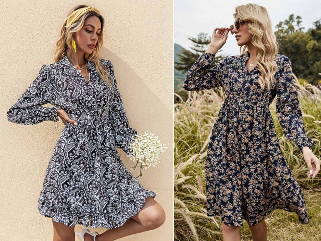 2. Floral Dresses - Teenage Clothing Fashion Trends