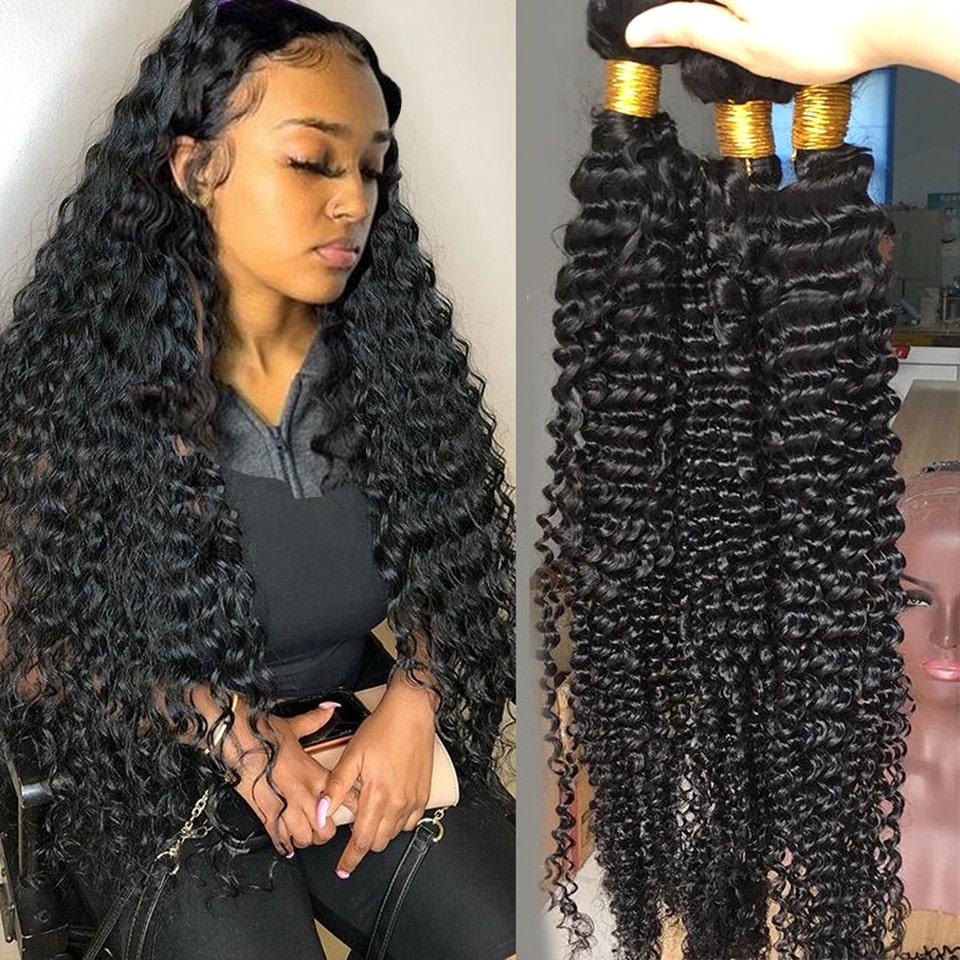 1.3. Fashow Brazilian Curly Human Hair-AliExpress Curly Hair