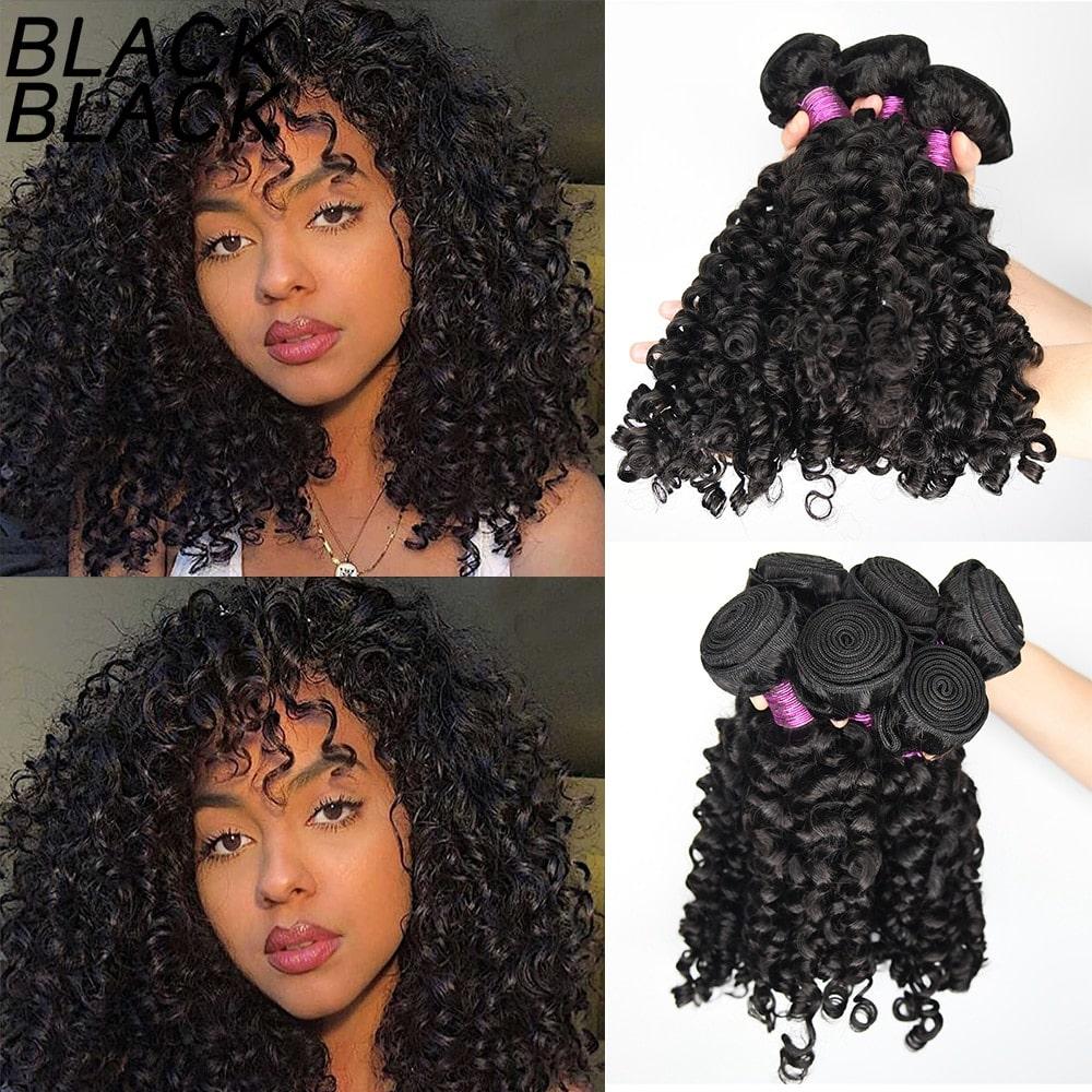 1.7. Black Black Indian Virgin Curly Hair-AliExpress Curly Hair