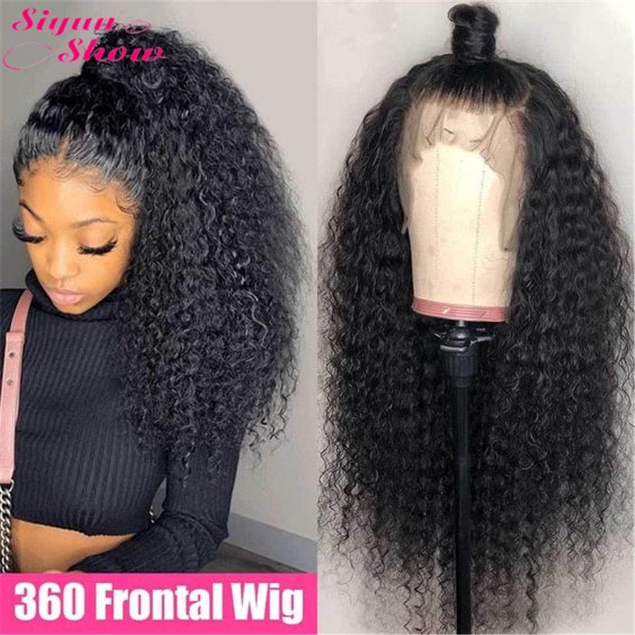 2.8. Siyun Show Curly Remy Hair Wig-Best AliExpress