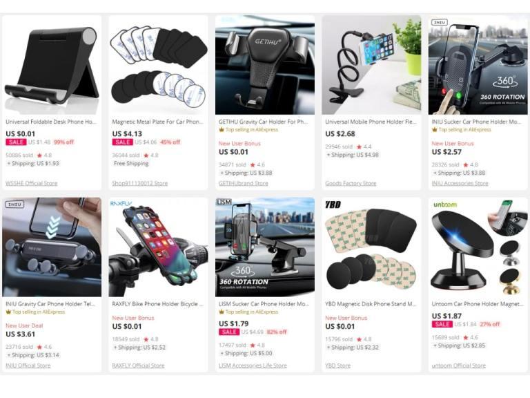 4. Magnetic Car Phone Holder-aliexpress best sellers