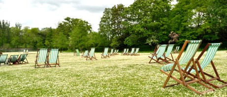 Deckchairs and daisies