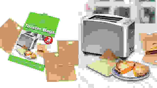 Eksel Non Stick Reusable Toaster Bags