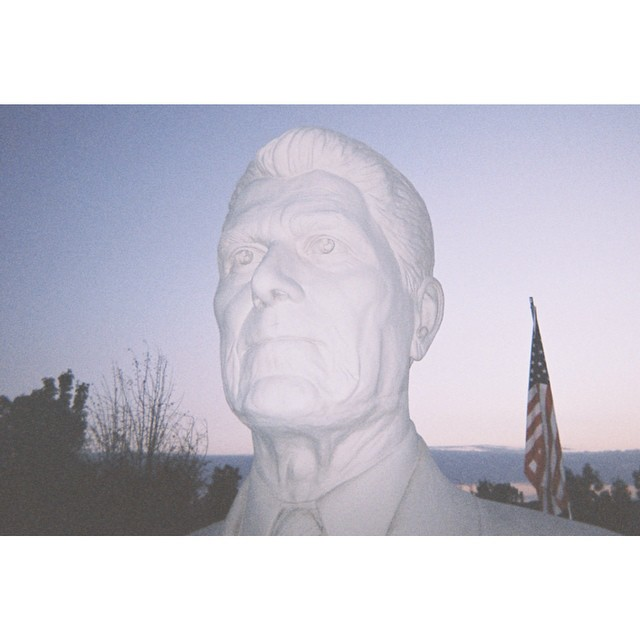 White Reagan by Chase Lisbon.