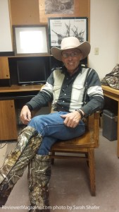 Lavoy Finicum, a member of Bundy's group who granted Sarah an interview.