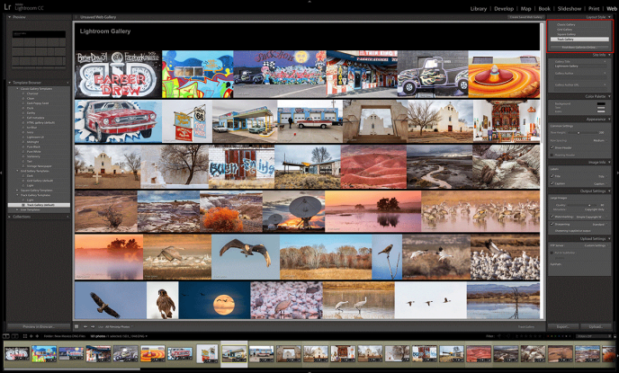 """Picture from Google Image search: """"Adobe Lightroom web gallery""""."""