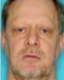Reportedly a pic of Stephen Paddock, in what looks like banal i.d. style photo.