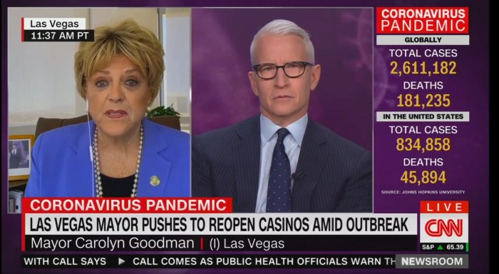 Mayor Goodman on CNN with Anderson Cooper.