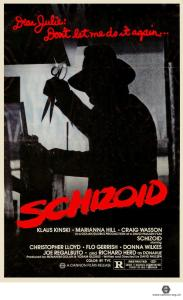 Schizoid (1980) [US poster]