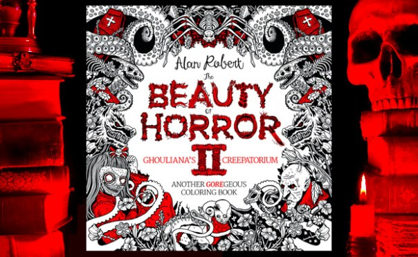 The Beauty Of Horror The Most Goregeous Coloring Book Of Last Year