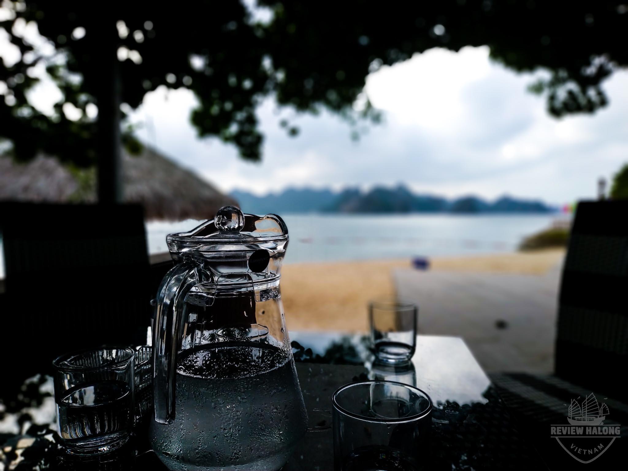 Cafe sáng với biển đảo Soi Sim