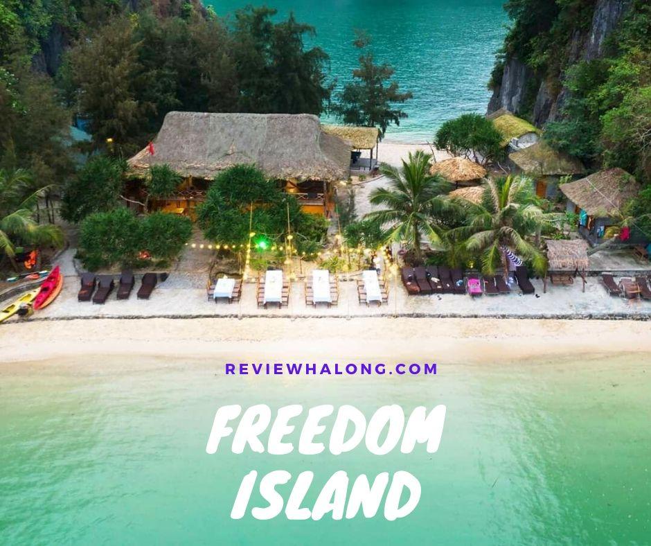 Vùng vẫy thỏa thích cùng combo sốc ở Freedom Island – vịnh Lan Hạ