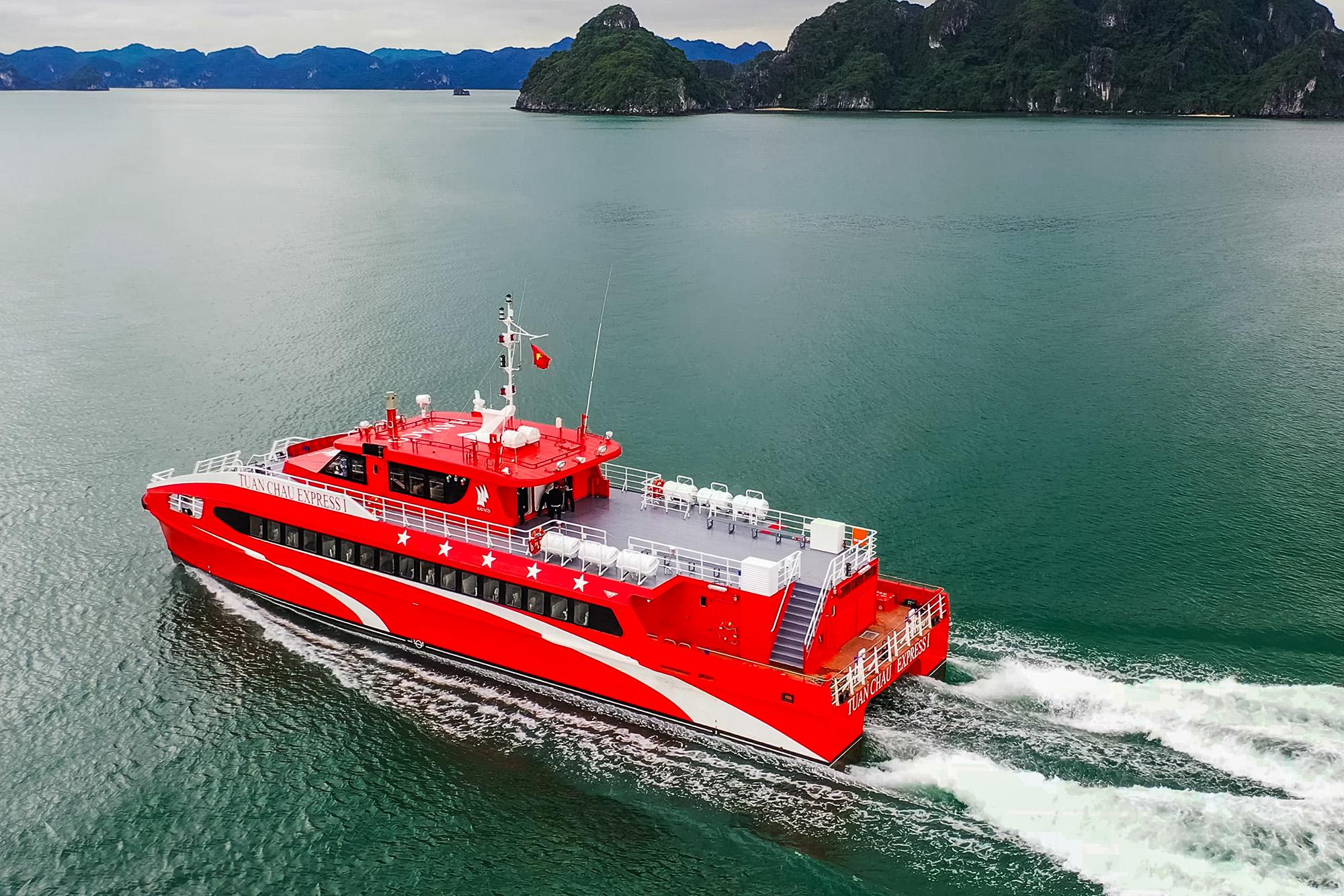 Giá vé Tàu cao tốc Tuần Châu –  Cô tô năm 2020