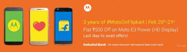 Motorola 3rd Anniversary Sale