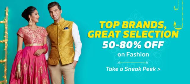 Flipkart Big Diwali Sale: Fashion