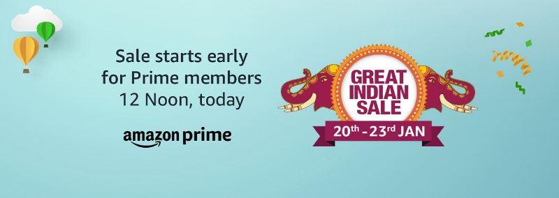 b0ae026ac Amazon Great Indian Sale 20th Jan to 23rd Jan  Top 5 Smartphone Picks