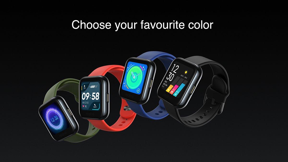 Realme smartwatch - Choose your color