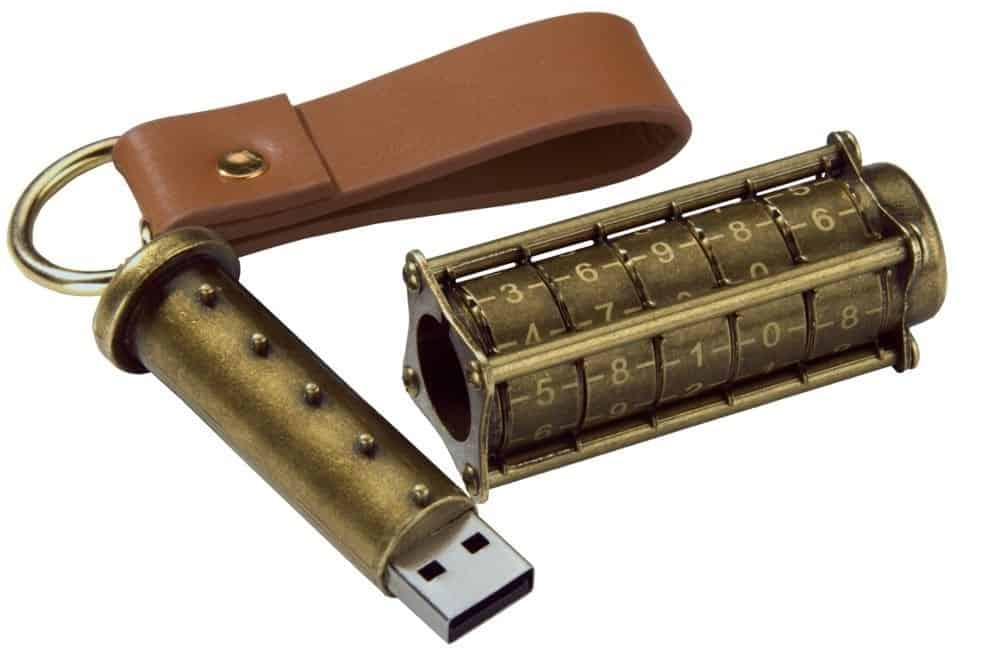 Cryptex Steampunk USB Flash Drive Review
