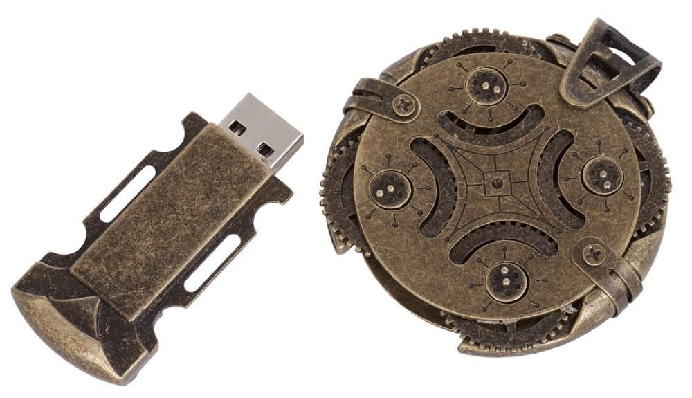 Cryptex Round Lock USB Flash Drive Review