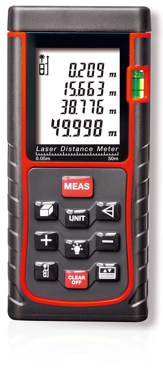 E50 Laser Distance Meter Review