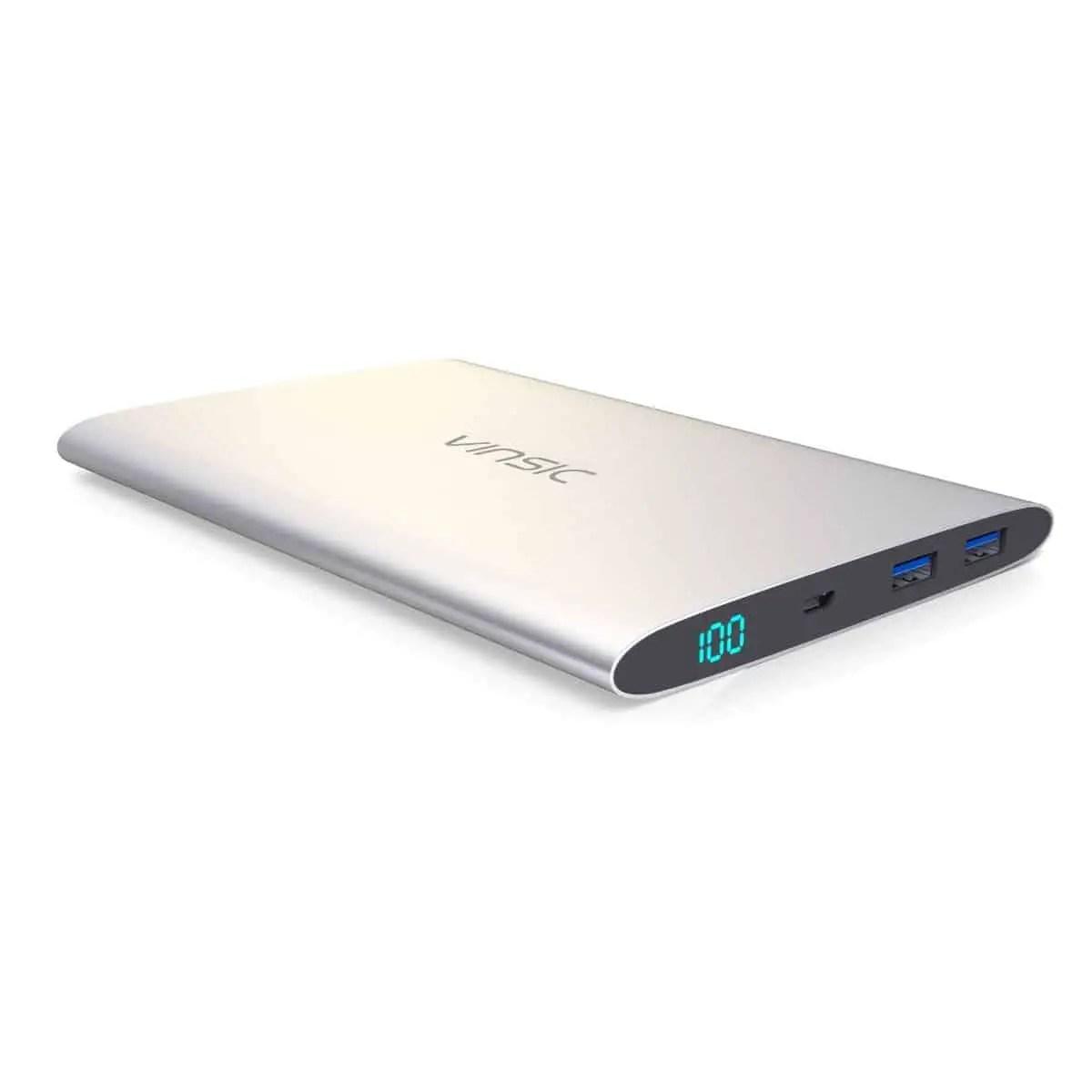 Vinsic 15000mAh Ultra Slim Power Bank Review