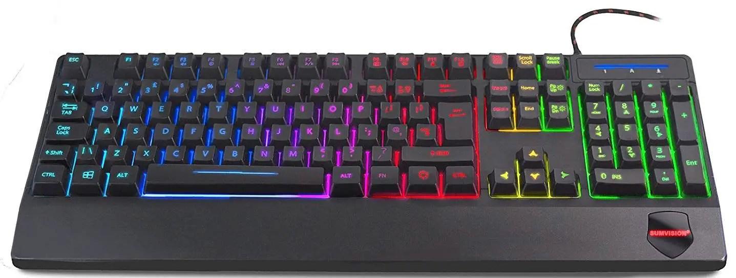 Sumvision Sonic Wave LED Illuminated Keyboard Review
