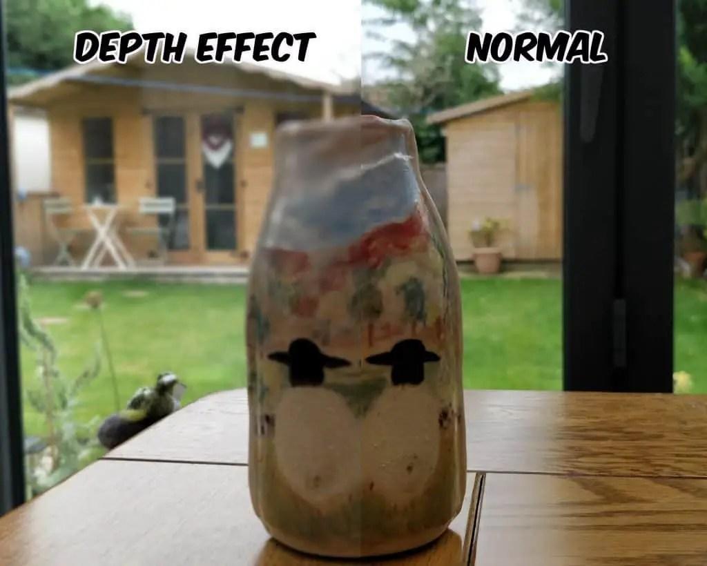 OnePlus 5 depth test