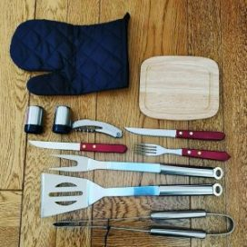 ROMANTICIST 12 BBQ Set Items