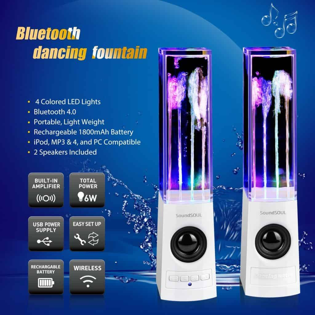 Dancing water speakers review