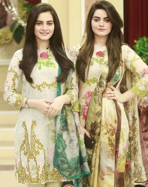 Latest Pictures Of Minal And Aiman Khan Reviewitpk