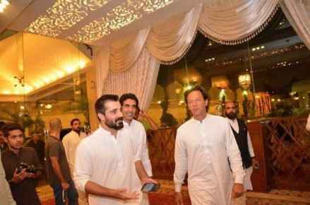 Hamza Ali Abbasi's Happy Post For IK Is A Must Read