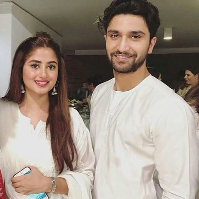 Image result for ahad raza mir and sajal aly getting married