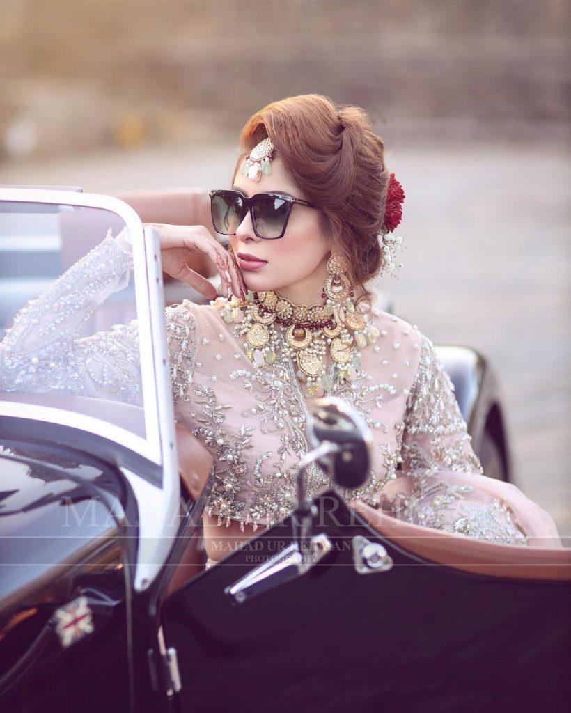 Latest Bridal Shoot Featuring Azekah Daniel