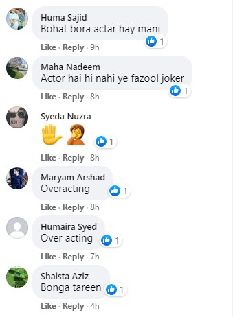 "People Are Not Happy With Mani's Acting In ""Chupke Chupke"""