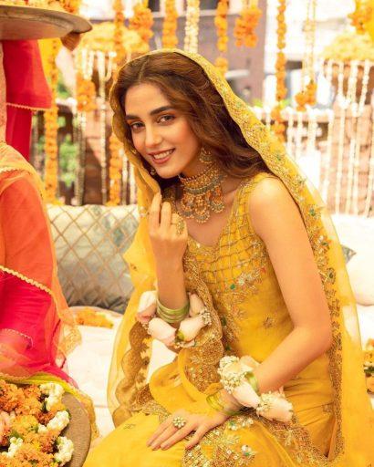 Maya Ali in a Vibrant Mayon Bride photoshoot