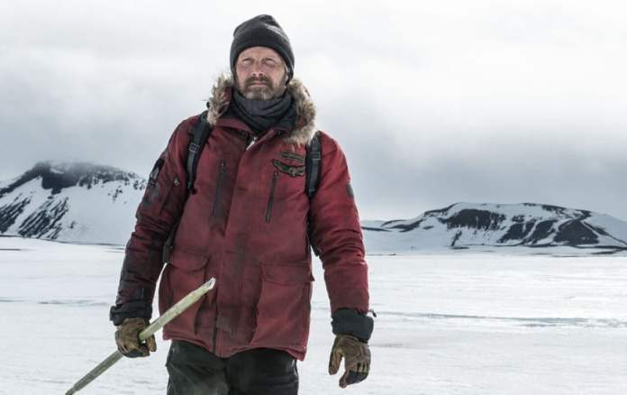 """Shot from the film """"Lost in the Ice"""""""