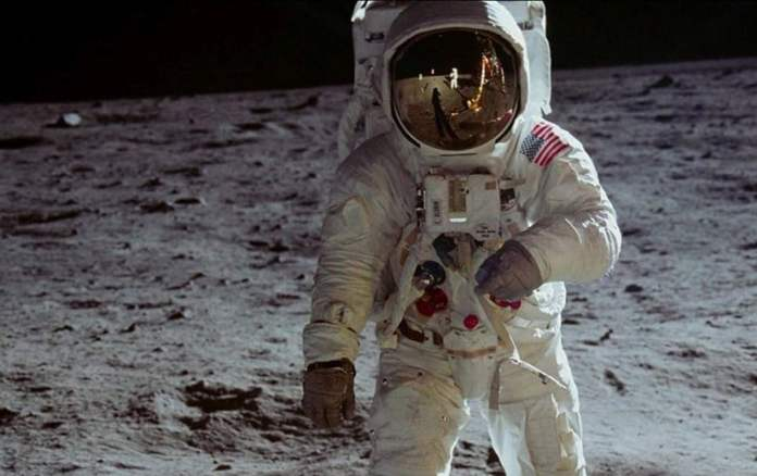 Shot from the movie Apollo 11